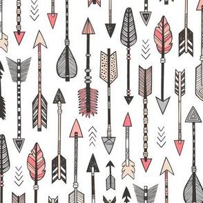 Arrows in Peach