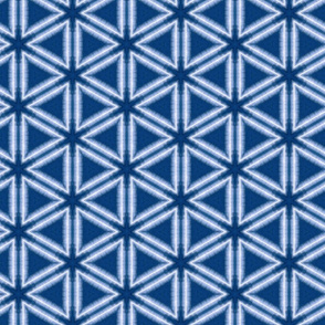 Indigo Dyed Pattern