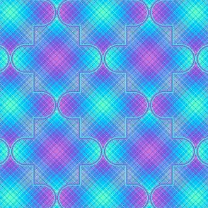Quatrefoil Plaid 04