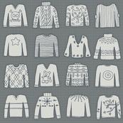 A Grey Knit (AW1516 coordinate)