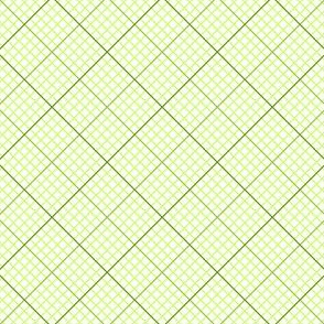 diagonal graph : lime green