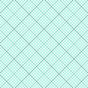 diagonal graph : jade green