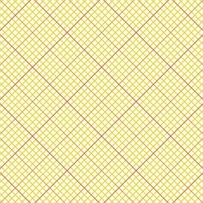 diagonal graph : orange yellow