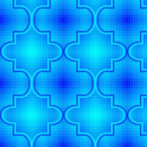 Quatrefoil Plaid 11