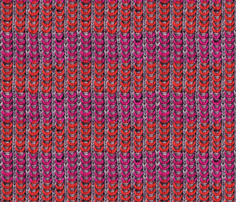 Custom Knit Fabric : Neon Mikkey Knit fabric - leethal - Spoonflower
