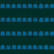 Stripy Knit (BlueGreen coordinate)