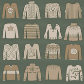 Sweater Selection (SoftKnit coordinate)