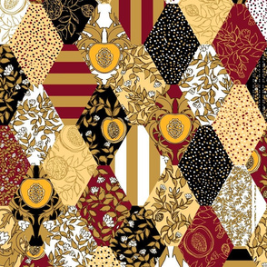 Vineyard Quilt Tiles