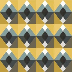 Geometric Diamond Blocks