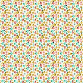 Summer Citrus - Yellow, Red, Green (Mini) by Andrea Lauren