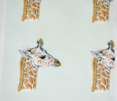 Custom Sized Baby Giraffe for Quilt Blocks