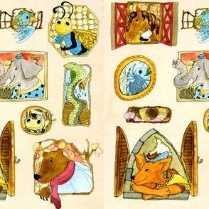 Children's Window Themed Print
