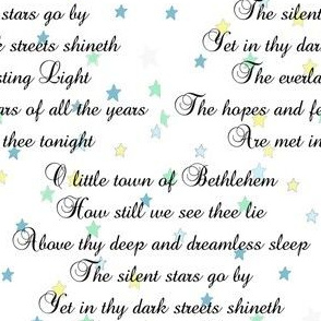 O Little Town of Bethlehem | Christmas Carols | Mint Stars