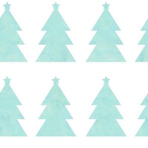 Holiday Trees Aqua