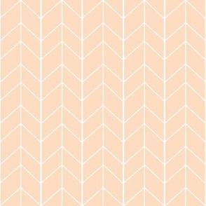 Small Arrow Chevron -Blush