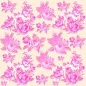 Grandma's Roses in Pink