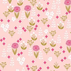 flowers // pastel pink florals