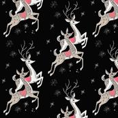 Mid Century Reindeer - Vinatage Christmas