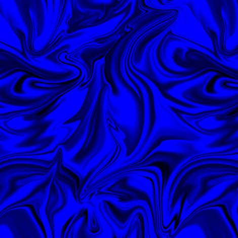Blue Satiny Marble