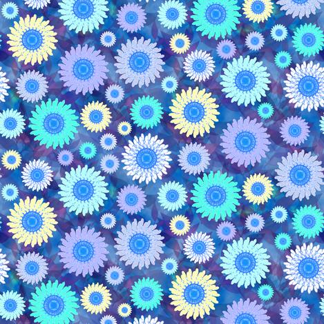 Zillion Zinnias, Blue