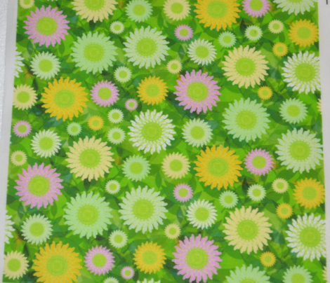 Zillion Zinnias, Green