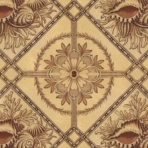 Ornate Antique Seashell Design