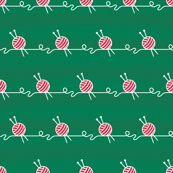 Wool Balls Stripe (xmas knit coordinate)