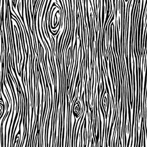 woodgrain // black and white nursery woodgrain baby