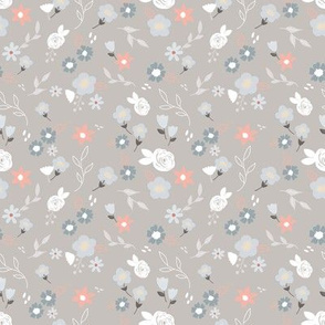 Little blooms grey