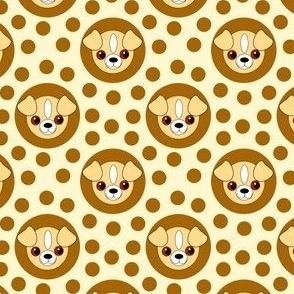 Extra Dotty Puppy Polka Dot