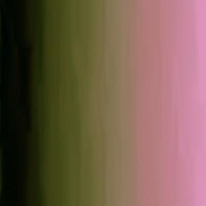Pinkish, Green & Brown Faded Watercolor