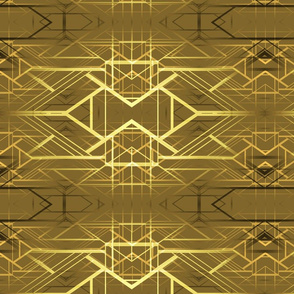 deco background gold