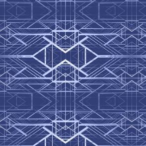 deco background blue