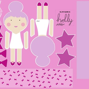 Top Knot Dolls - Holly