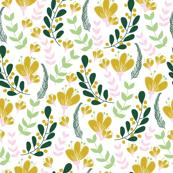Winter wonderland floral