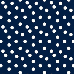 dots // navy blue kids nursery baby coordinate