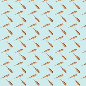 Corn Dog -teal