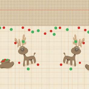 Gift Bag - Christmas Reindeer