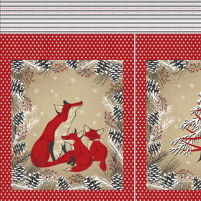 Fox Family Gift Bag
