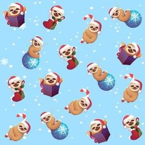 Christmas Tiny Little Sloths
