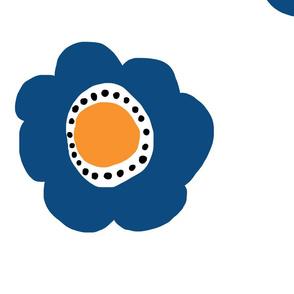 Blue Funk Flowers