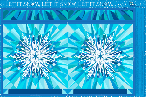 Let it snow! -A cut & sew gift bag
