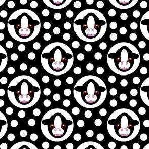 Extra Dotty Calf Polka Dot