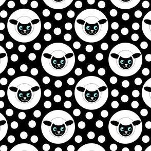 Extra Dotty Lamb Polka Dot