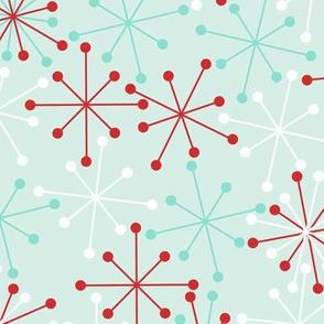 Atomic Snowflakes- XL Mint