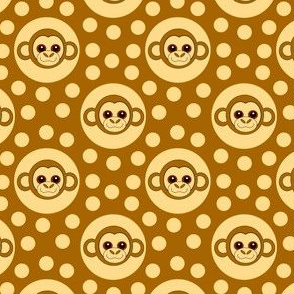 Extra Dotty Monkey Polka Dot