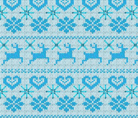Scandinavian Knitting (Blue)