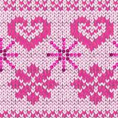 Scandinavian Knitting (Pink)