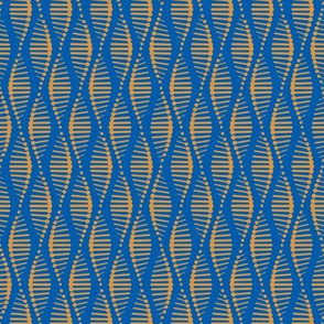 Gene Splice Blue