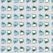 Cute Hoot Owls